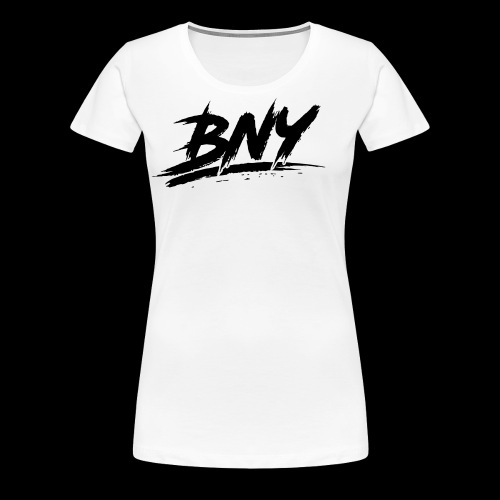 BLACK LOGO - Women's Premium T-Shirt