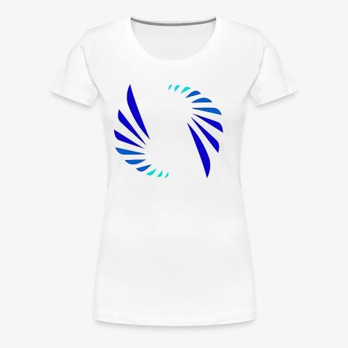 Cool Colors Logo - Women's Premium T-Shirt