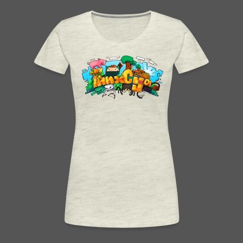 ThnxCya tshirt design 01 big by Jonas Nacef png - Women's Premium T-Shirt