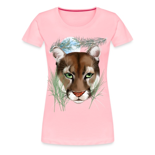 Midnight Puma - Women's Premium T-Shirt