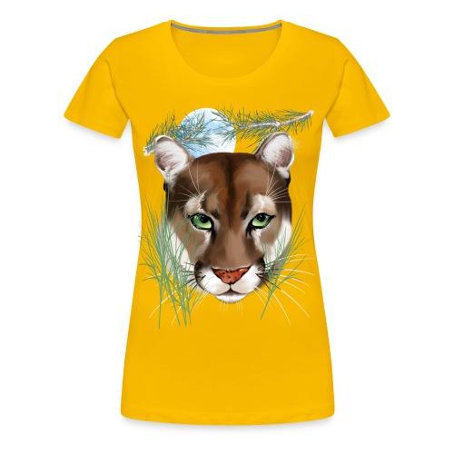Midnight Puma - Women's Premium T-Shirt