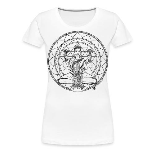 Lakshmi 700 mug art - Women's Premium T-Shirt