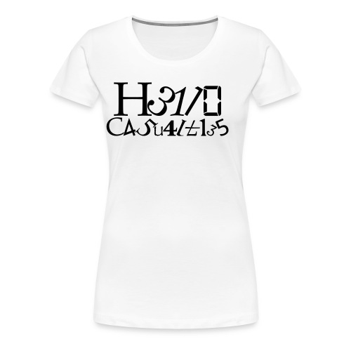 Hello Casualties Leet - Women's Premium T-Shirt