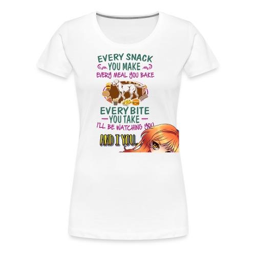 Watching you - Women's Premium T-Shirt