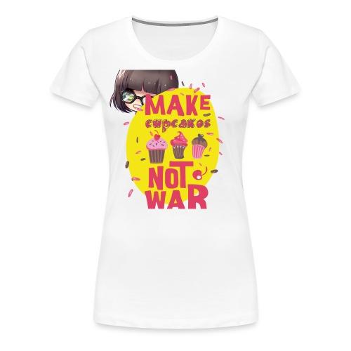 MAKE CUPCAKES - Women's Premium T-Shirt