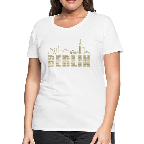 Skyline of Berlin - Women's Premium T-Shirt