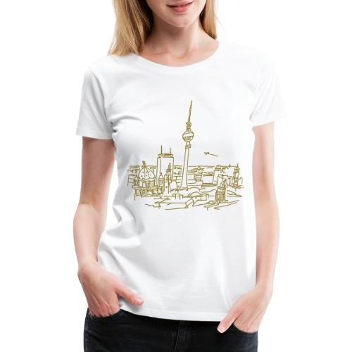 Panorama of Berlin - Women's Premium T-Shirt