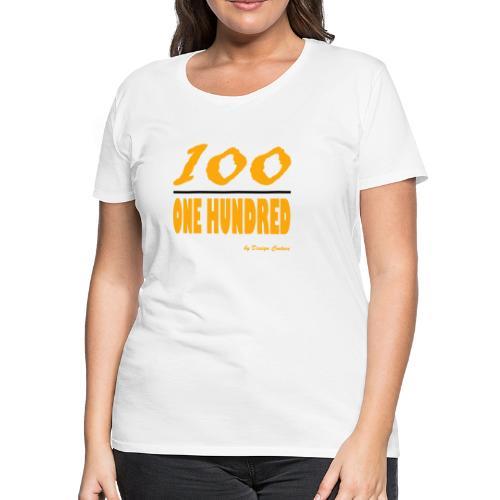 ONE HUNDRED ORANGE - Women's Premium T-Shirt