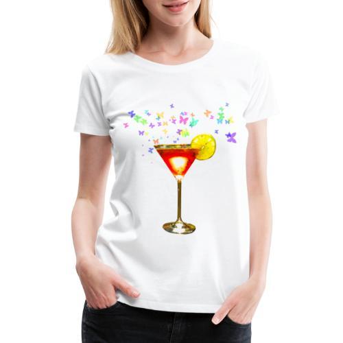 Cosmopolitan cocktail print - Women's Premium T-Shirt