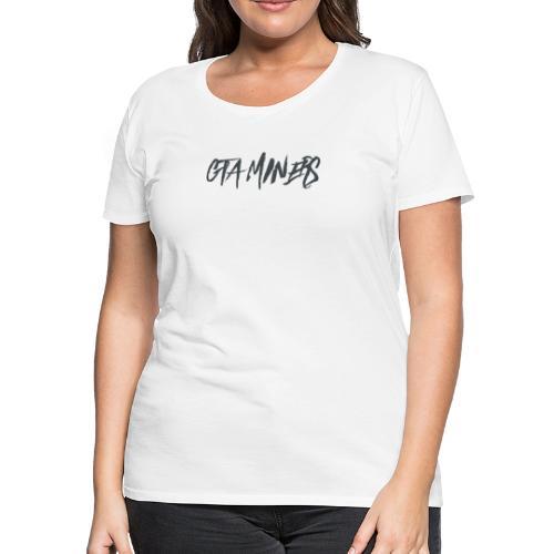 GTA MINERS BLACK LOGO - Women's Premium T-Shirt