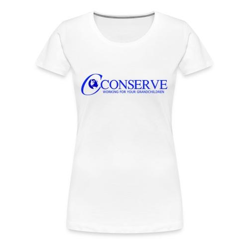 Conserve 1 - Women's Premium T-Shirt