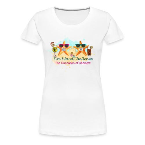 Five Island Challenge - Women's Premium T-Shirt