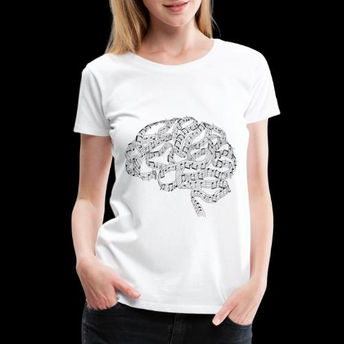 Sound of Mind | Audiophile's Brain - Women's Premium T-Shirt