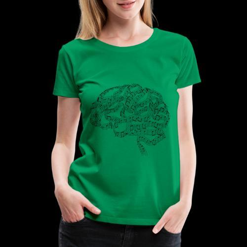 Sound of Mind | Audiophile's Brain - Women's Premium T-Shirt
