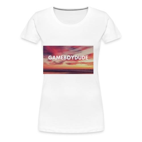 GameBoyDude merch store - Women's Premium T-Shirt