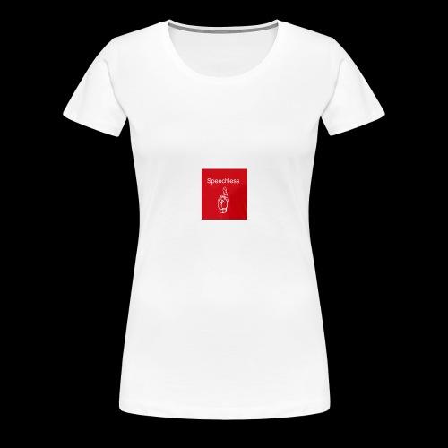 Speechless introduction - Women's Premium T-Shirt