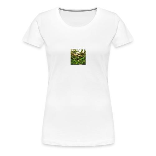 green aquarium - Women's Premium T-Shirt