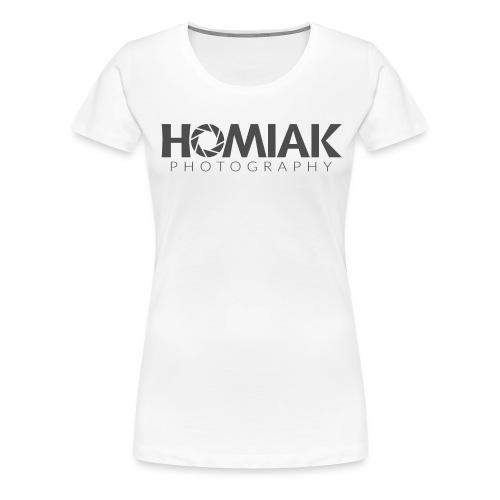 HP_LOGO_2016 (GRAY) - Women's Premium T-Shirt
