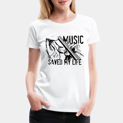 music is live - Women's Premium T-Shirt