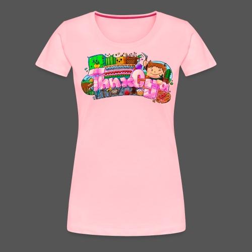 ThnxCya tshirt generic design 03 by Jonas Nacef pn - Women's Premium T-Shirt