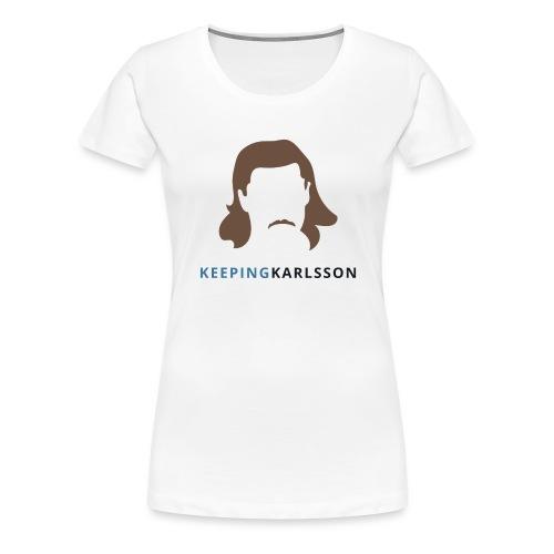 Keeping Karlsson Logo Transparent brown - Women's Premium T-Shirt