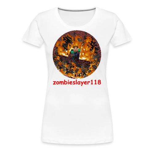zombieslayer118 merch - Women's Premium T-Shirt