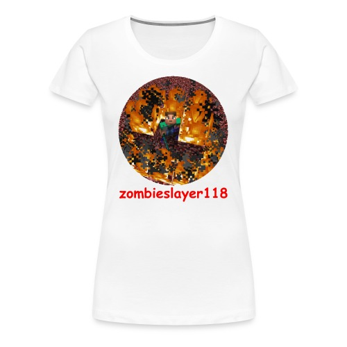 zombieslayer118 merch - Women's Premium T-Shirt
