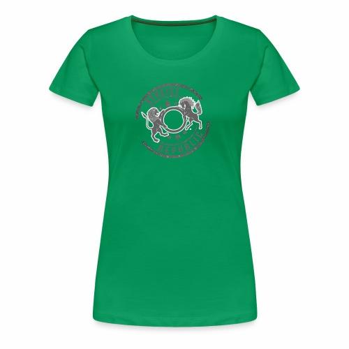Atheist Republic Logo - Starred Stamp - Women's Premium T-Shirt