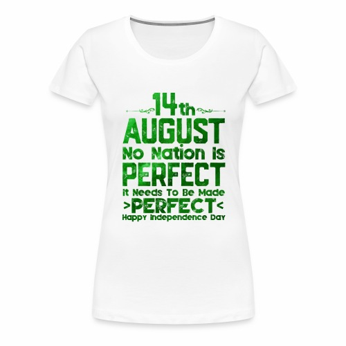 14th August Independence Day - Women's Premium T-Shirt