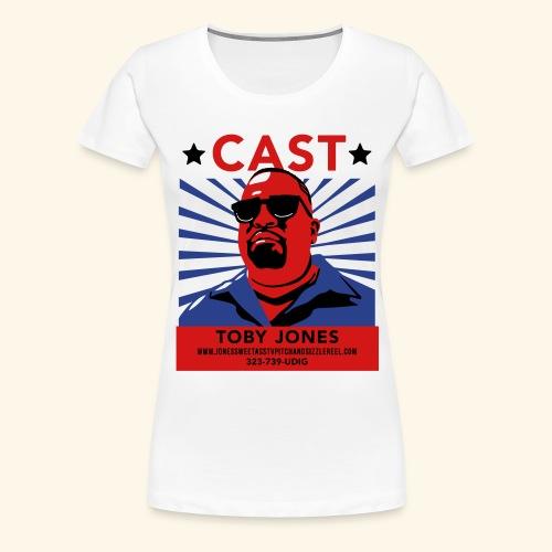 toby jones tee v3 ol - Women's Premium T-Shirt