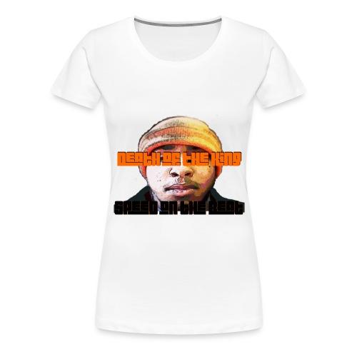 Speed on the Beat DOTK Face - Women's Premium T-Shirt