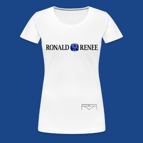 ronald renee chrome png - Women's Premium T-Shirt