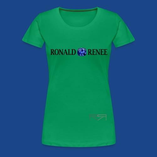 ronald renee chrome png - Women's Premium T-Shirt