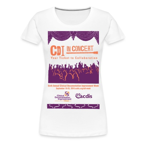 CDI-Week-shirt - Women's Premium T-Shirt
