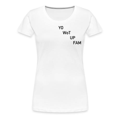 YWUF - Women's Premium T-Shirt