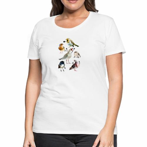 Birds With Arms - Women's Premium T-Shirt