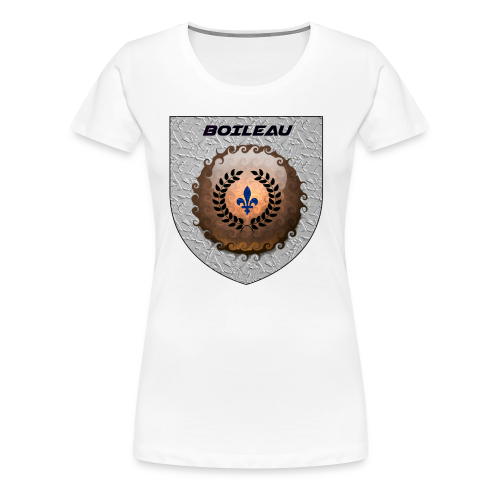 BOILEAU 1 - Women's Premium T-Shirt