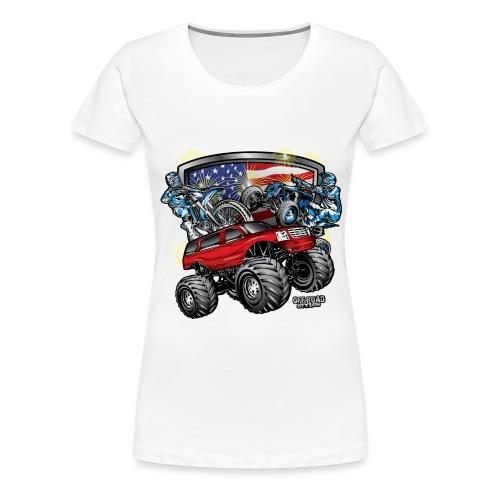Off-Road 4th of July - Women's Premium T-Shirt