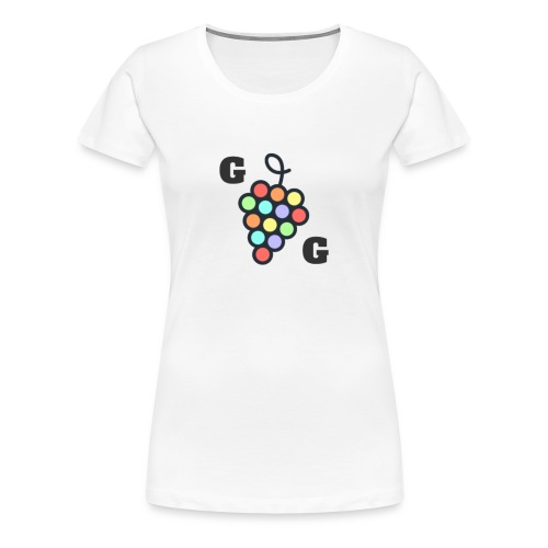 Gay Grapes - Women's Premium T-Shirt