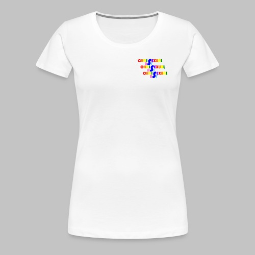 Chrisexual Trisexual - Women's Premium T-Shirt