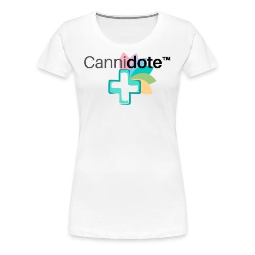 2 CANNIDOTE - Women's Premium T-Shirt
