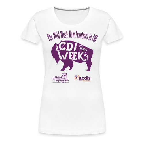 CDI-Week-2017 - Women's Premium T-Shirt