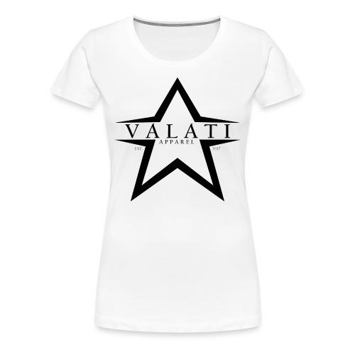V-STAR Black - Women's Premium T-Shirt