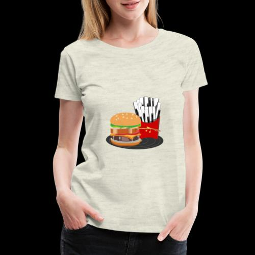 Fast Food Rocks - Women's Premium T-Shirt