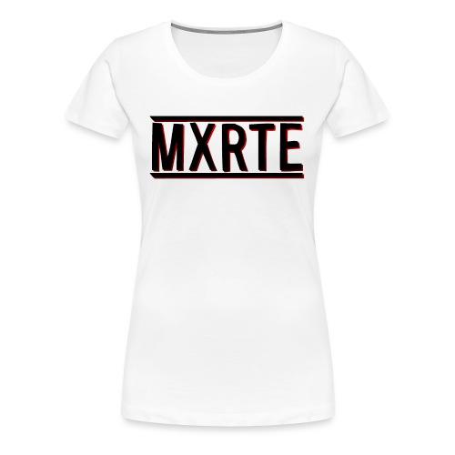 MXRTE - Women's Premium T-Shirt