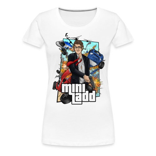 GTA Illustration png - Women's Premium T-Shirt