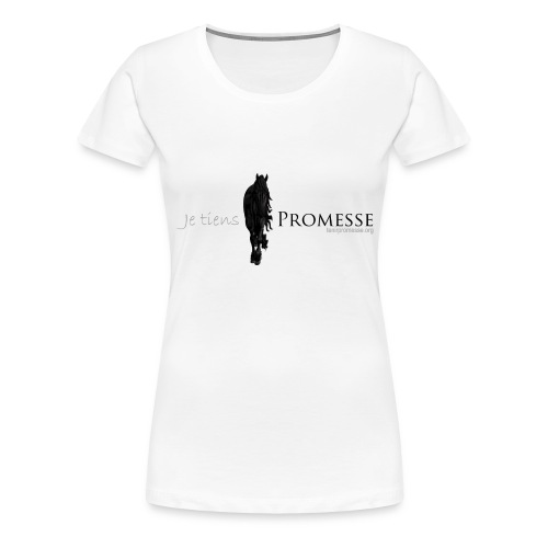 jetienspromesse png - Women's Premium T-Shirt