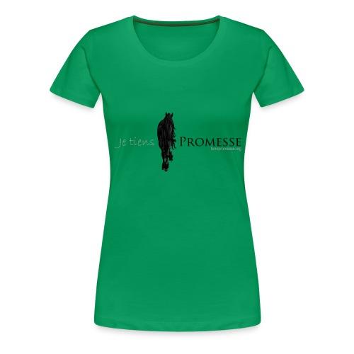 jetienspromesse png - Women's Premium T-Shirt