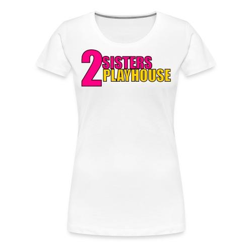 2sisters color 1 - Women's Premium T-Shirt