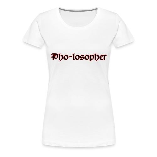 Pholospher Word Mark - Women's Premium T-Shirt